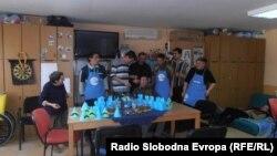 """Дневниот центар за полнолетни лица со интелектуална попреченост """"Порака Наша"""" во Куманово."""