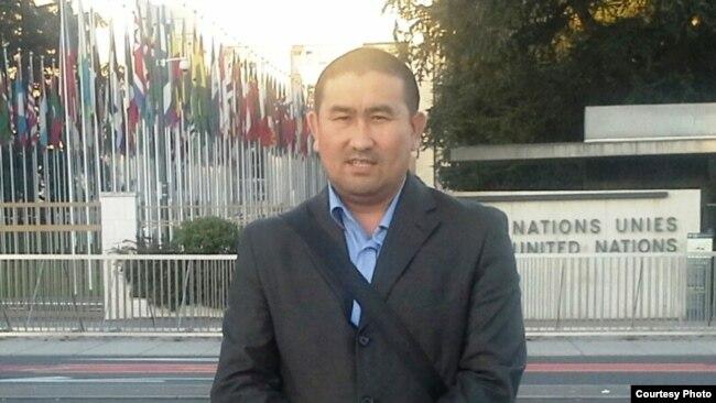 Правозащитник Амангельды Шорманбаев.