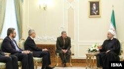حسن روحانی در دیدار با سفیر جدید اسپانیا در تهران.