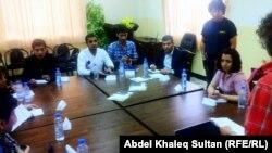 جانب من دورة تأهيل الصحفيين في دهوك