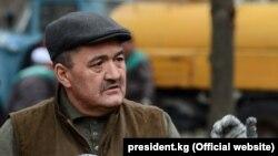 Мэр Бишкека Албек Ибраимов.