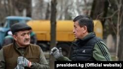 Бишкек: президент катышкан ишембилик