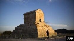 Мавзолей царя Кира (Куруша Великого) в Иране