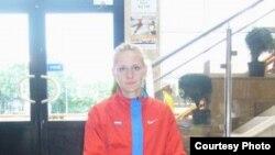 Светлана Соколова - чемпионка России в семиборье. Фото из личного архива спортсменки.