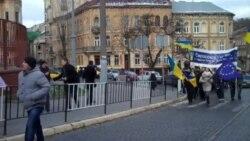 Львівські студенти прийшли до консульств європейських країн