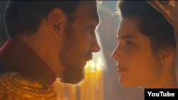 A still from the film Matilda about an affair between a ballerina, Matilda Kshesinskaya, and the Russian Tsar Nicholas II.