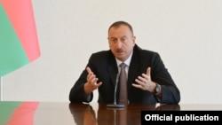Президент Азербайджана Ильхам Алиев. Архивное фото