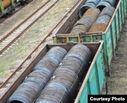 Металлопродукция для вывоза в Россию (фото автора)