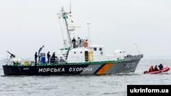Катер береговой охраны ВСУ