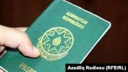 Azerbaijan -- national passport, 05Jul2012