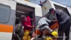 У Тайвані поїзд зійшов з рейок. Є загиблі (відео)