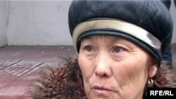 Қызылағаш аулының тұрғыны Баян Рыспаева, Талдықорған, 12 наурыз, 2010 жыл.
