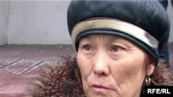 Баян Рыспаева, жительница села Кызылагаш. Талдыкорган, 12 марта 2010 года.