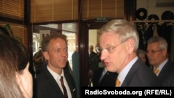 Карл Більдт, міністр закордонних справ Швеції, Одеса, 12 квітня 2014 року