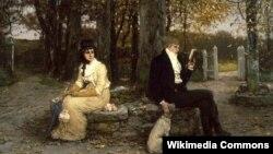 Джордж Генры Боўтан, «Канчаецца мядовы месяц» (1878)