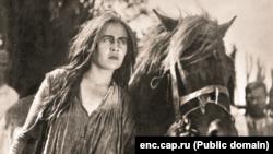 """Тани Юн в художественном фильме """"Апайка"""". 1930."""