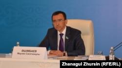 Депутат мажилиса парламента Казахстана Маулен Ашимбаев.