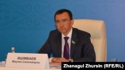 Маулен Ашимбаев, председатель комитета по международным делам, обороне и безопасности мажилиса парламента Казахстана.