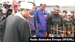 Почеток на изградба на нова џамија во населбата Тризла во Прилеп.