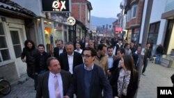 Пендаровски во посета на Охрид.