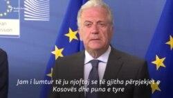 Avramopoulos: Kosova ka plotësuar kriteret për liberalizimin e vizave