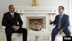 Ռուսաստանի եւ Ադրբեջանի նախագահների հանդիպումը Սոչիում, 9-ը օգոստոսի, 2011թ.
