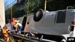 25 мая 2010 года. Авария туристического автобуса, следовавшего из Аланьи к термальным источникам Памуккале