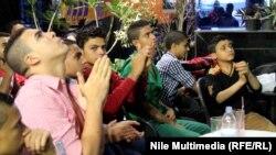 مشجعين للكرة المصرية