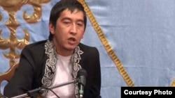 Ринат Зайтов, айтыскер ақын. Қарауыл ауылы, Шығыс Қазақстан облысы, 15 қыркүйек 2011 ж.