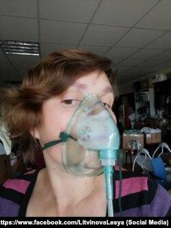 Волонтерка Леся Литвинова