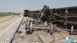 Bombing Blamed For Deadly Train Derailment In Pakistan GRAB