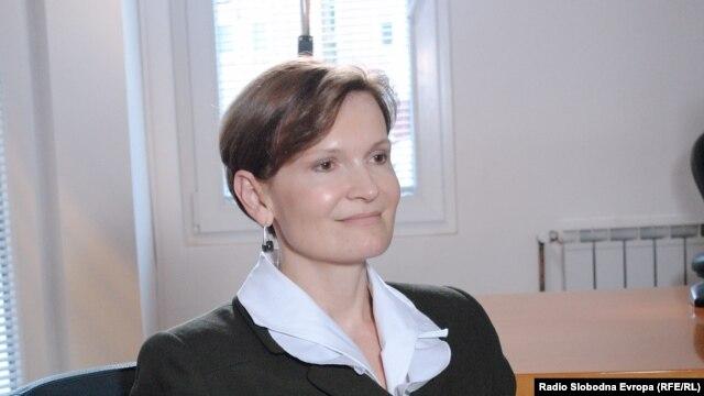 Лилија Бурунчук, директор на канцеларијата на Светската Банка во Македонија