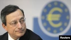 Европа Марказий Банки Президенти Марио Драги.