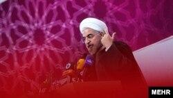 Иранның жаңа сайланған президенті Хассан Роухани. Тегеран, 3 шілде 2013 жыл.