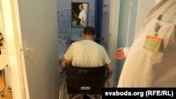 Больной рассеянным склерозом, архивное фото