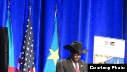 سيلفاكير ميارديت رئيس جنوب السودان
