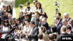 Оппозиция Грузии отвергла обвинения в намерении взорвать железную дорогу