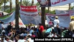 Каирдин Тахрир аянтындагы нааразылык акция, 2011-жылдын 12-июлу.