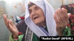 Бадан Исматова, сокини 112-солаи ноҳияи Абдураҳмони Ҷомӣ