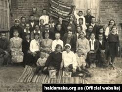 Українська школа в слободі Нова Сотня на Східній Слобожанщині, РРФСР, 1933 року