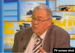 István Csurka vorbind la televiziune după numirea sa ca director artistic