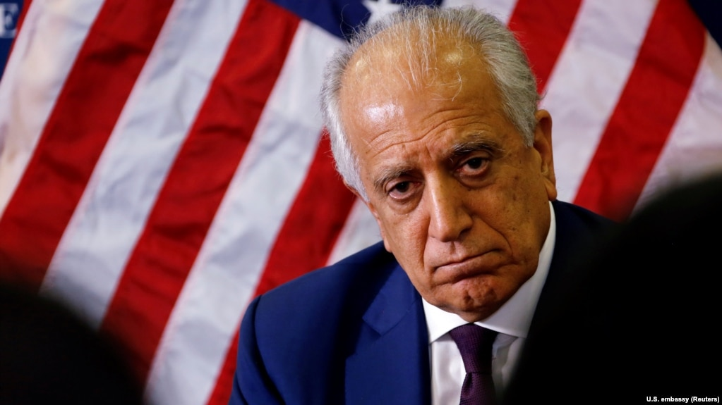 Khalilzad disappointed by collapse of Peace Talks