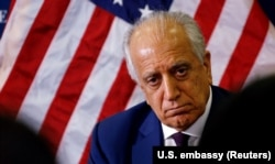 The U.S. special envoy for peace in Afghanistan, Zalmay Khalilzad