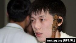 Мейірбек Солтанхан, айтыскер ақын. Алматы, 11 ақпан 2012 жыл.