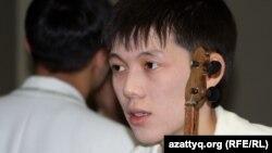Мейірбек Сұлтанхан, айтыс ақыны. Алматы, 11 ақпан 2012 жыл.