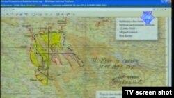 Gen.VRS Radislav Krstić napisao na mapi - Srebrenica uvijek srpska