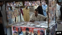 Music piracy has had a devastating impact on once-ubiquitous Pashtun music shops and stands. (file photo)