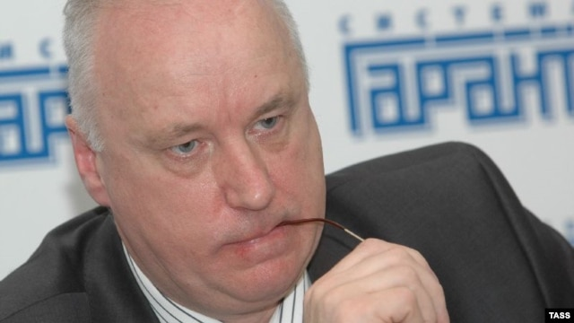 The head of the Russian Investigative Committee, Aleksandr Bastrykin
