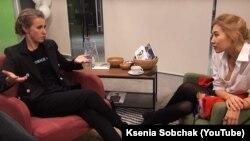 Ксения Собчак и Беата Бубенец