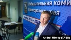 Кандидат в губернаторы Приморского края Андрей Ищенко